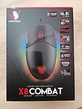 Мышь Fantech Combat X8 Black