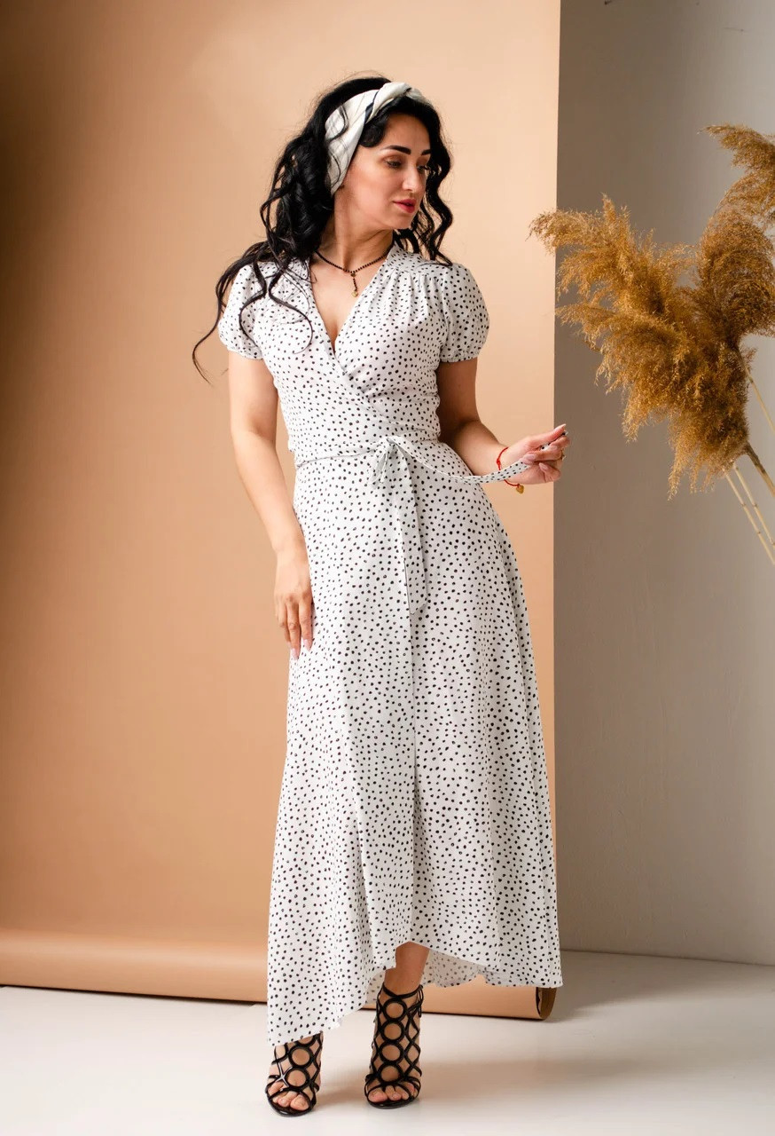Літнє плаття біле