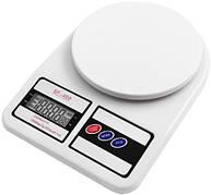 Электронные кухонные весы Domotec MS-400 белые, автовыключение