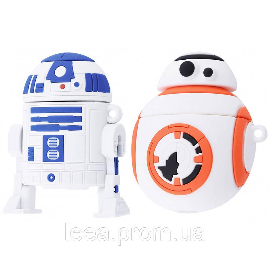 Силіконовий футляр Star Wars Droid для навушників AirPods (2 кольори)