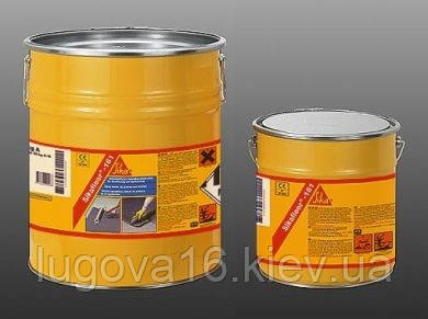 Грунтовка эпоксидная,упрочнитель пола, светло-желтая,Sikafloor-161 (AB), 30кг
