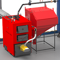 Твердотопливный котел Retra-4М Combi 98 кВт с факельной горелкой