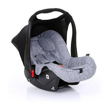 Детское автокресло для новорожденного ребенка ABC design Graphite Grey 0+ до 13 кг Серое (12000121/900HAZEL)