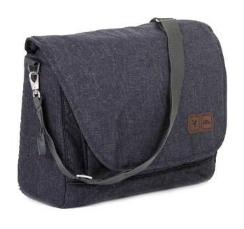 Универсальная сумка для коляски ABC Design Fashion Street Темно-серая (12000161/901)