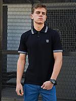 Мужская футболка Polo BEZET Original black 2.0'20