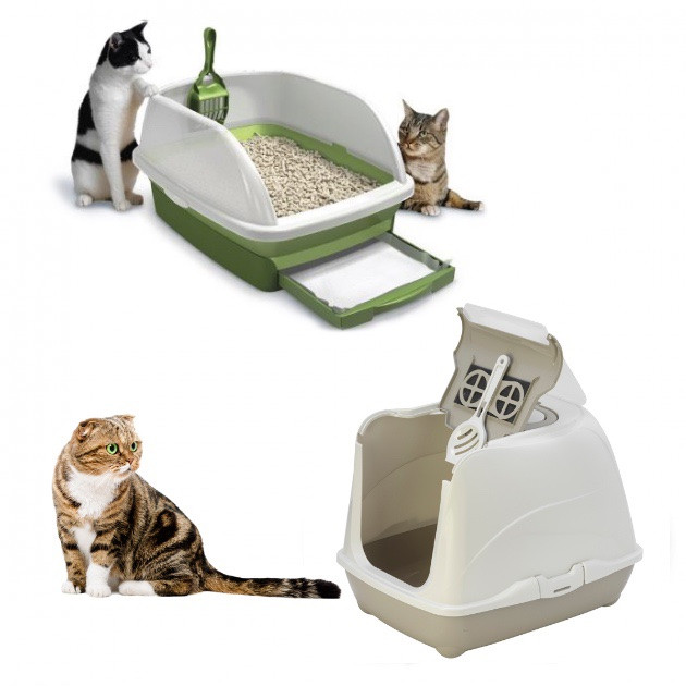 Туалети для котів і кішок