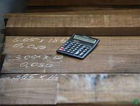 Массив доски Американский Орех 52 мм (экстра)