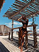 Женский купальник Girl black, стильный хорошего качестваТурция(см-мл), фото 1