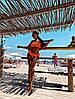 Женский купальник Kerry, стильный хорошего качества ,перфорированная турецкая лайкра, чашки пушап (см-л)