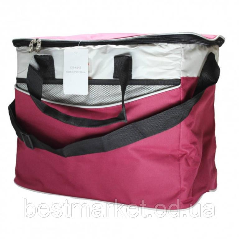 Термосумка-Холодильник для Їжі та Напоїв Cooling Bag DT-4245 (42х25х32см)