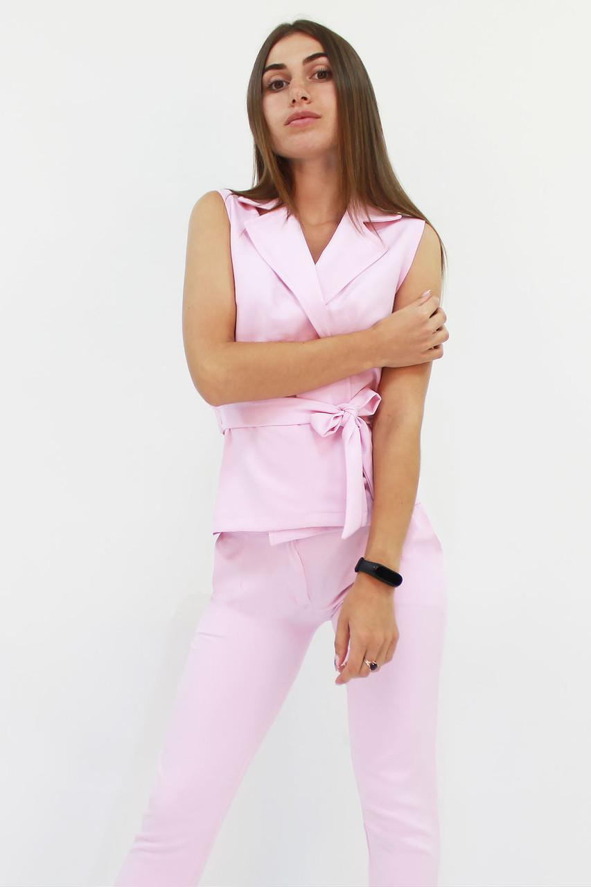 Стильний жіночий костюм Archer, рожевий