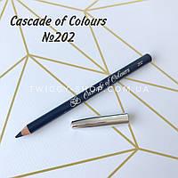 Карандаш для глаз синий Cascade of Colours 202