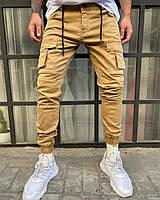 Мужские штаныДжоггерыс высокого качества, с карманами(29-36)