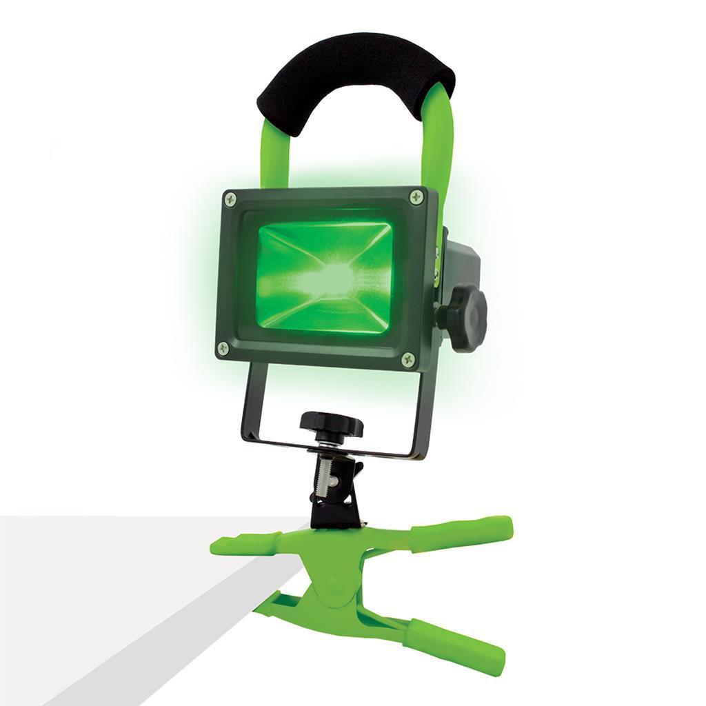 Фонарь на прищепке (зеленый свет) LUMII GREEN LED WORK LIGHT