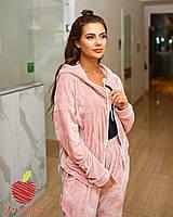 Костюм женский спортивный батал в расцветках 39913, фото 1