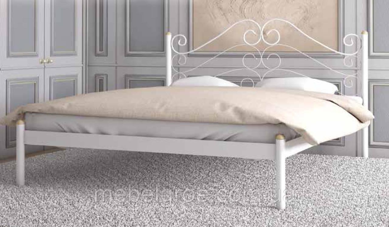Кровать двуспальная Адель 1600х2000(1900)мм тм Металл-Дизайн