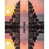 "Картина по номерам. Brushme ""Храм Лемпуянг. Бали"" GX29705"