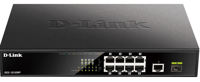 Комутатор D-Link DGS-1010MP