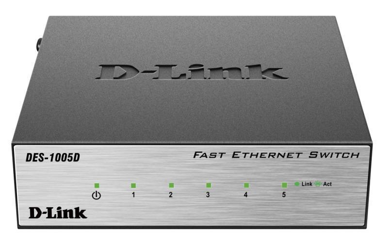 Комутатор D-Link DES-1005D