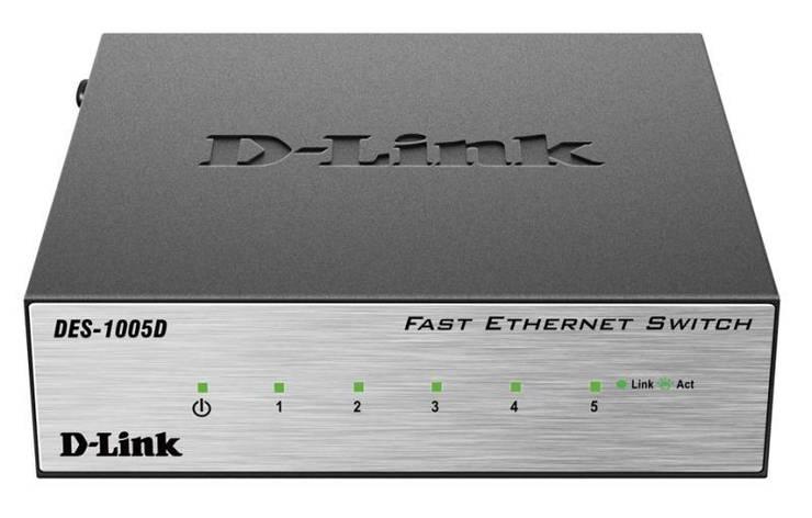 Комутатор D-Link DES-1005D, фото 2