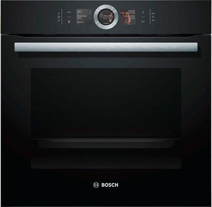 Духова шафа електрична Bosch HBG6764B1 Чорний