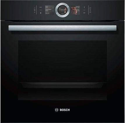 Духова шафа електрична Bosch HBG6764B1 Чорний, фото 2