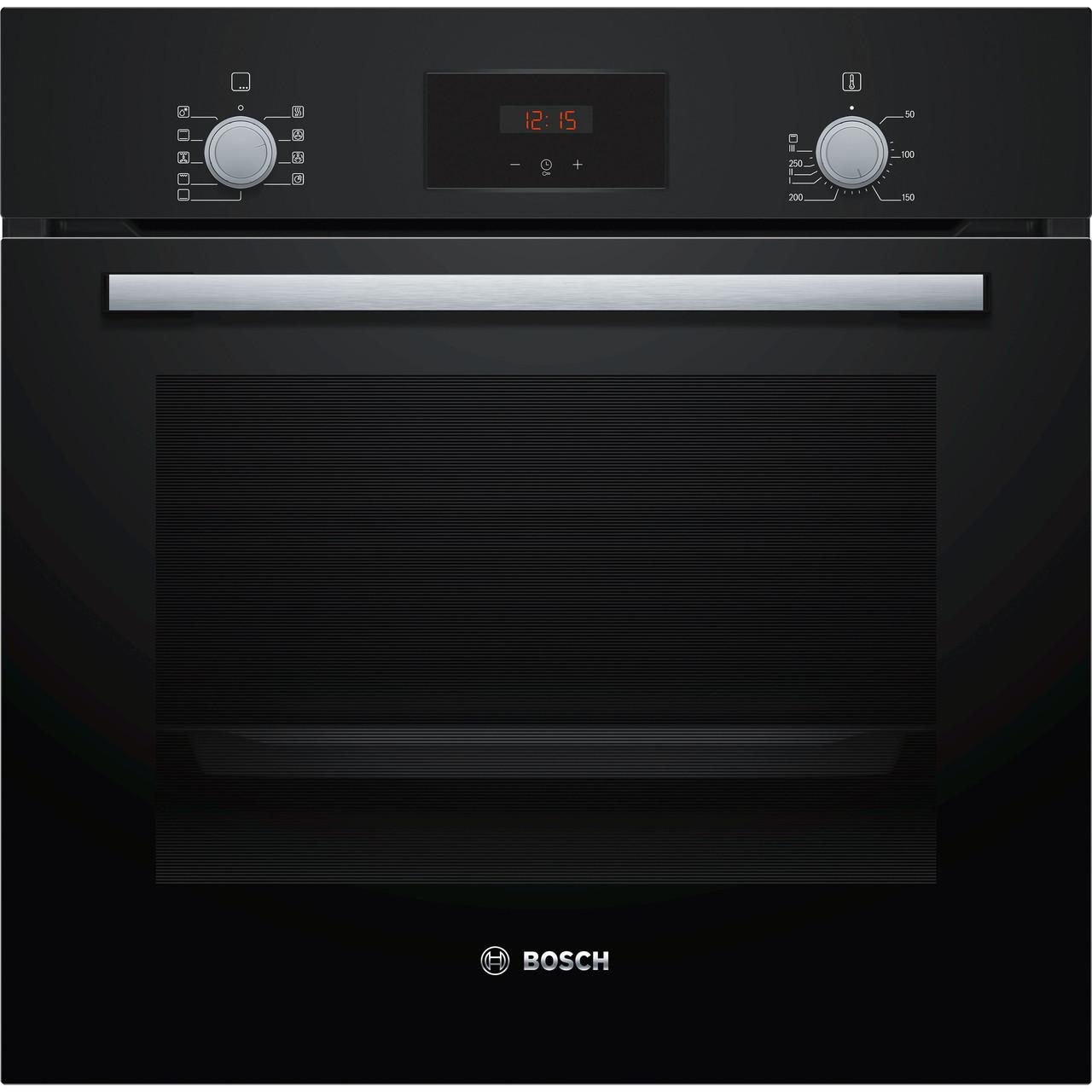 Духова шафа електрична Bosch HBF114EB0R Чорний