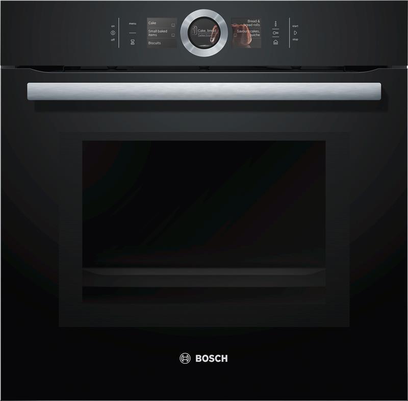 Духовой шкаф электрический Bosch HNG6764B6 Черный