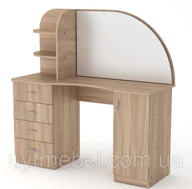 Туалетний стіл Трюмо-6 дуб сонома (Компаніт)