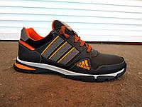 Кроссовки мужские кожаные Adidas реплика 40 -45 р-р, фото 1