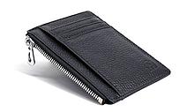 Кошелек картхолдер на 6 карт и 2 удостоверения чёрный