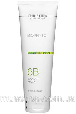 Christina cosmetics Bio Phyto Zaatar Mask - Фіто Біо Маска «Заатар» (крок 6b), 250мл, фото 2