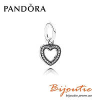 Pandora Шарм СИМВОЛ ЛЮБВИ 791304CZ серебро 925 Пандора оригинал, фото 1