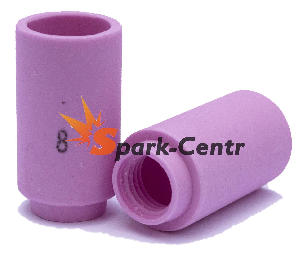 Газове Сопло №8 стандартне 30 мм, Ø12,5 мм серія 13N для пальника WP-20