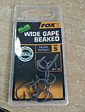 Гачки Карпові Wide Gape Beaked  Micro Barbed 5 Fox, фото 2