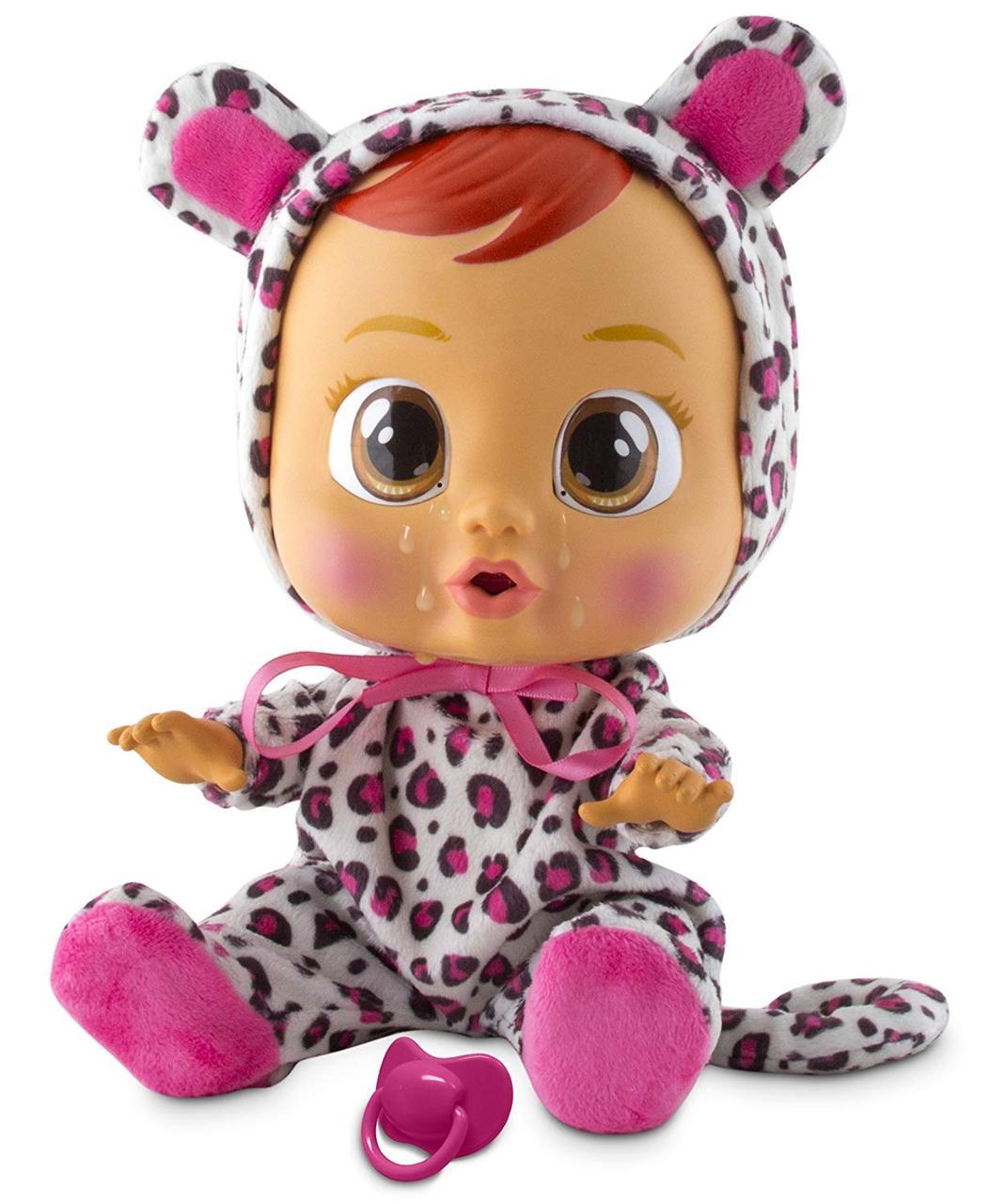 Интерактивная кукла пупс Cry Babies Плакса Лиа Плачущий младенец