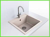Кухонная гранитная мойка AQUA / кухонна гранітна мийка 495/480/200