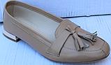Туфли кожаные женские от производителя модель ФТ26-1, фото 2