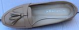 Туфли кожаные женские от производителя модель ФТ26-1, фото 4