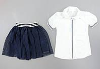 {есть:152} Комплект для девочек , Артикул: Pk1903-синий [152], фото 1
