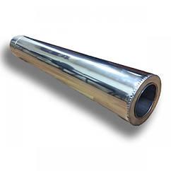 Труба дымоходная Версия Люкс L-1 м толщина 1 мм