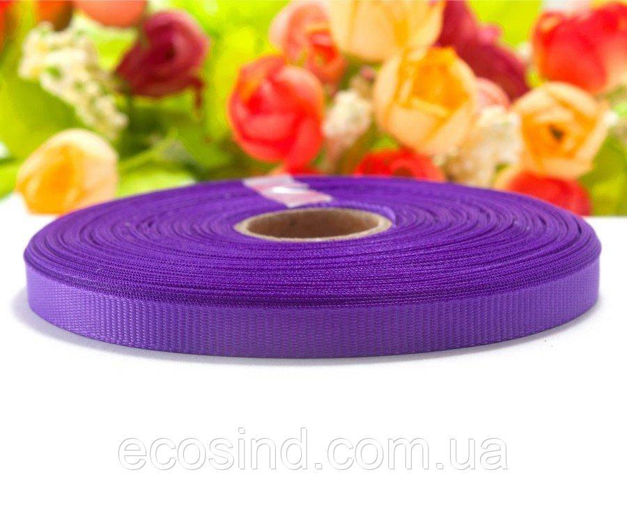 РЕПСОВАЯ лента ширина 0,6см (25 ярдов) Цена за рулон, цвет - Фиолетовый (сп7нг-0868)