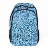 Модный спортивный рюкзак Адидас синий