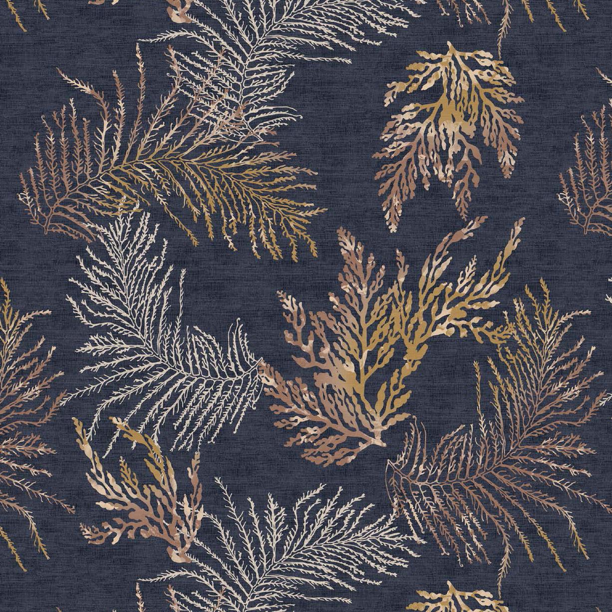 Мебельная ткань Oceana Anthracite 381019/2013, велюр з принтом