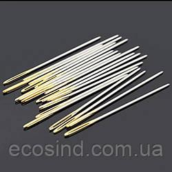 Игла для ручного шитья кожи 40,5*0,94 (СТРОНГ-0853)