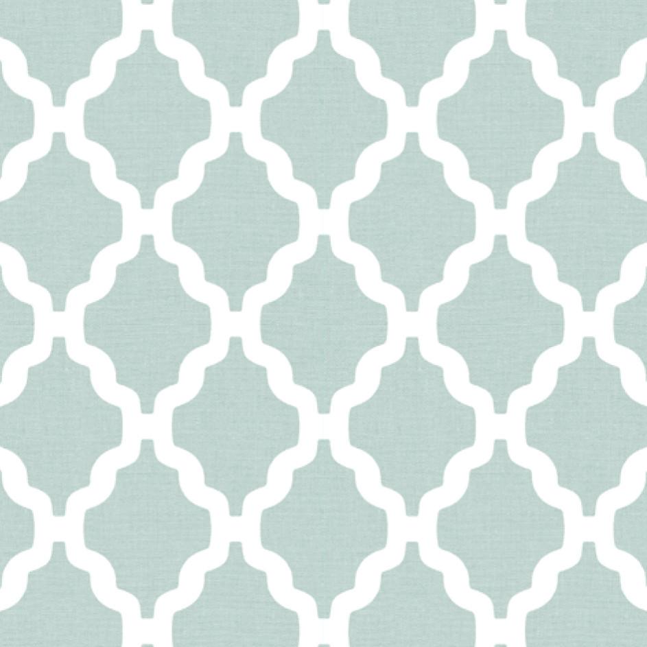 Мебельная ткань Casablanca Mint 371198/109, велюр з принтом