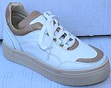 Кроссовки женские кожаные от производителя модель ФТ29, фото 2
