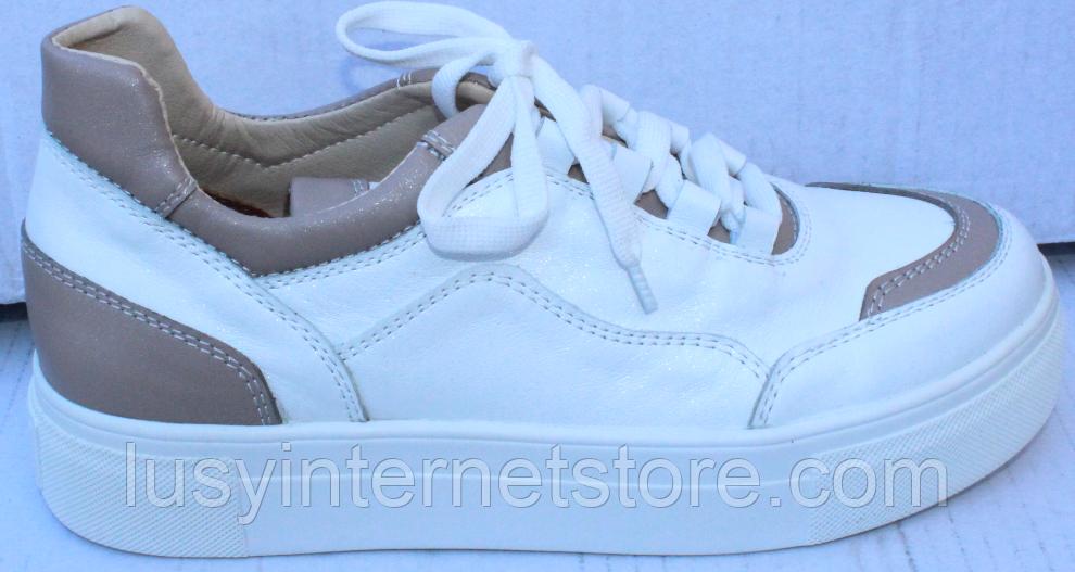 Кроссовки женские кожаные от производителя модель ФТ29