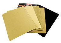 Набор листовой наждачной бумаги для шлифовки POWERFIX (PM1-10035)