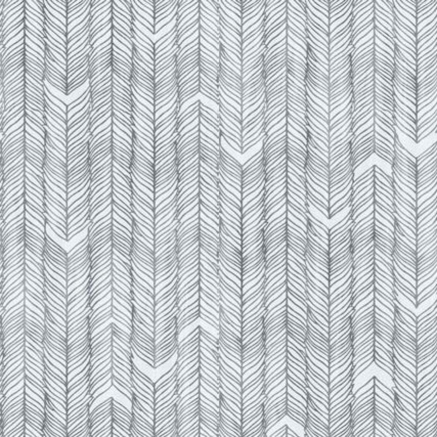 Мебельная ткань Moonlight Grey 371185/3110, велюр з принтом